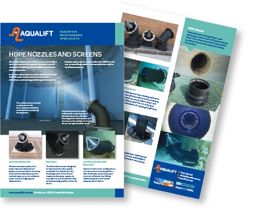 Aqualift HDPE Nozzles & Screens